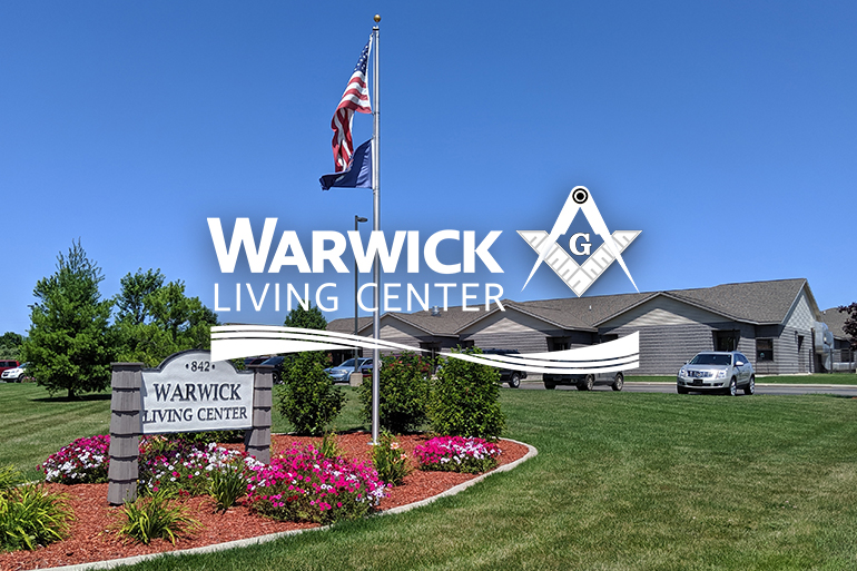 Warwick Living Center building exterior