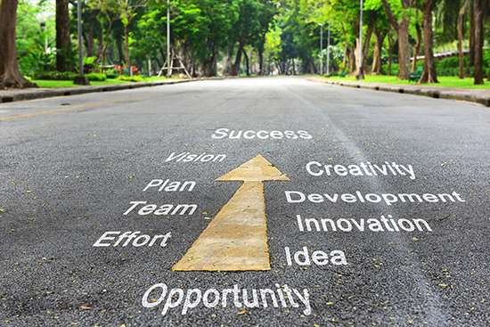 Road toward opportunity and growth